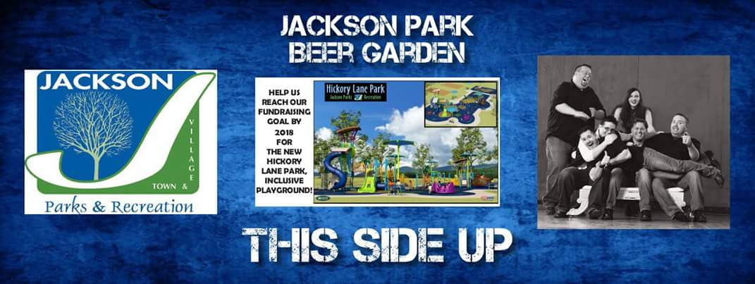 This Side Up is goin' to Jackson! (Beer Garden that is!)